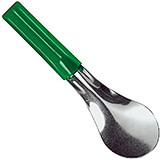 Green, Stainless Steel Ice Cream Spatula, 10""