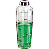 Clear, Acrylic Cocktail Shaker, 0.44 Qt