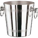 Chrome Steel, Aluminum Wine Bucket, 7.88""