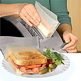 Icflon Reusable Electric Toaster Bags, 2/PK