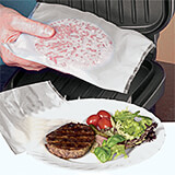 Icflon Reusable Electric Grill Bags, 2/PK