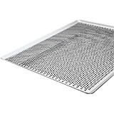 "Aluminum Perforated Baking Sheet, Flat, 33.5"" X 17"""