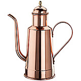 Copper / Tin Oil Dispenser, 0.5 Qt