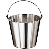 Stainless Steel Graduated Ice Bucket, 12.63 Qt