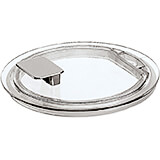 Clear, Polycarbonate Lid for Sambonets Italian Buffet Bowls, 5.5""