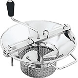 Stainless Steel 8 Qt. Food Mill #5, 3 Mm Sieve