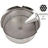 Tin Replacement Sieve for Food Mill 42577-39, 3 Mm