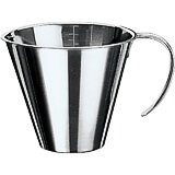 Stainless Steel Stackable Measuring Cup, 0.11 Qt