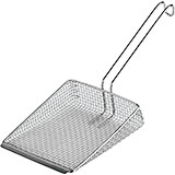 Stainless Steel Rectangular Fryer Skimmer / Scoop