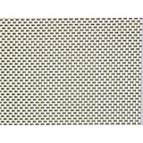 """Polyester / Vinyl Gray and Beige Placemats, 16.5"""" X 13"""", 6/PK"""