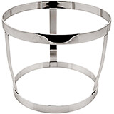 Chrome Steel Holder for Large Bowl, 7.13""