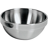 Stainless Steel Insulated Round Bowl, 5.5""