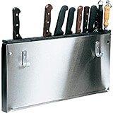 "23"" x 12"" x 1.25"" Stainless Steel Kitchen Utensils / Tool Holder"