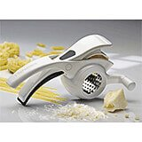 White, Polycarbonate Rotary Cheese Grater