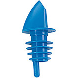 Blue, Plastic Bottle Pourer, 12/PK
