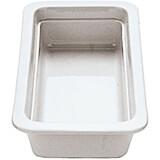 """White, Porcelain Gn 1/3 Hotel Pan / Baking Dish, 0.75"""" Deep"""