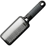Black, Stainless Steel Handheld Fine Grater