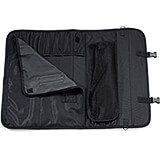 "Soft Knife Case, Black Polyester, Holds Up To 10 Knives 12"" Long"