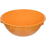 Orange, Plastic Proofing Basket, Round, 8.62""