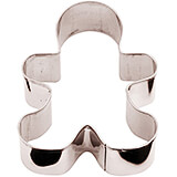 Stainless Steel Gingerbread Man Cookie Cutter