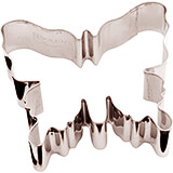 Stainless Steel Butterfly Cookie Cutter, 3.13""