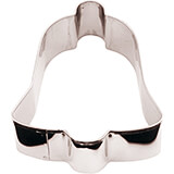 Stainless Steel Bell Cookie Cutter, 2.38""