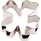 Stainless Steel Four-leaf Clover Cookie Cutter, 3.13""