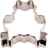 Stainless Steel Frog Cookie Cutter, 3.13""