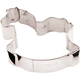 Stainless Steel Rocking Horse Cookie Cutter, 3.13""