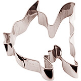 Stainless Steel Fish Cookie Cutter, 3.13""