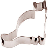 Stainless Steel Cat Cookie Cutter, 3.13""
