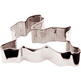 Stainless Steel Bunny Cookie Cutter, 3.13""