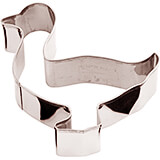 Stainless Steel Goose Cookie Cutter, 3.13""