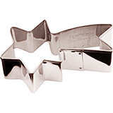 Stainless Steel Comet Cookie Cutter, 3.13""