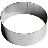 Stainless Steel Ice Cream Cake Ring Mold, 6.25""
