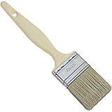 "Composite Material Pastry Brush, Beige Bristles, 2"" Wide"