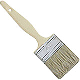 "Composite Material Pastry Brush, Beige Bristles, 2.75"" Wide"