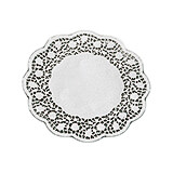 "White, Paper Doilies, Round Disposable Placemats, 6.62"", 250/PK"