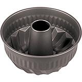 "Black, Steel Non-stick Kugelhopf Mold, 8.62"""