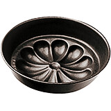 Black, Steel Non-stick Flower Mold, 7.88""