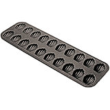 Black, Steel Non-stick Madeleine Baking Sheet, 20 Cups