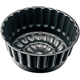 Black, Steel Non-stick Bavarois Mold, 7.13""