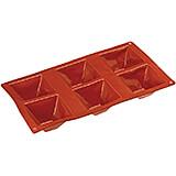 Non-stick Silicone Mold, Pyramid, Sheet Of 6