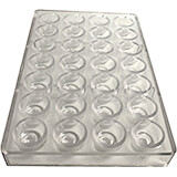 Polycarbonate Chocolate Mold, Peanut Butter Cup
