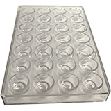 Polycarbonate Chocolate Mold, Cherry Cordial