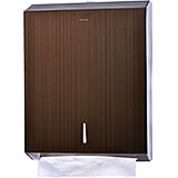 Stainless Steel C-Fold/Multifold Paper Towel Dispenser