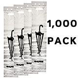 White, Hdpe Wet Umbrella Bags, 1000/PK