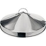 Stainless Steel Large Dumpling Steamer - Cover Only, 20""