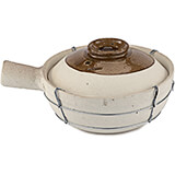 Earthenware 2 Qt. Single-handled Clay Pot for Cooking, 6.5""