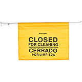 Yellow, Polyester Safety Hanging Sign
